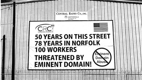 Fourth Circuit City Violated First Amendment By Banning Anti Eminent Domain Sign
