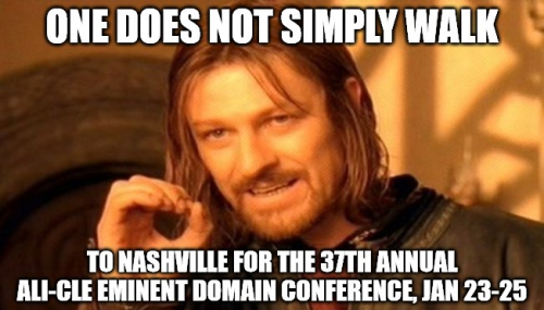 One does not simply walk to nashville