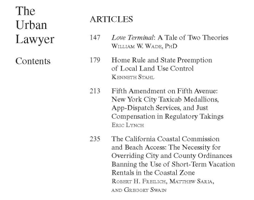 UrbanLawyer.v.50.1 articles